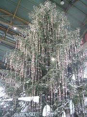 l'albero Swarovski a Zurigo