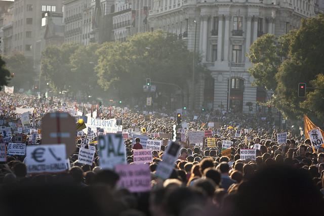 Manifestación 15-O Madrid 10