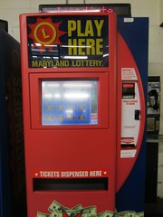 maryland lottery vending machine @ lexington m...