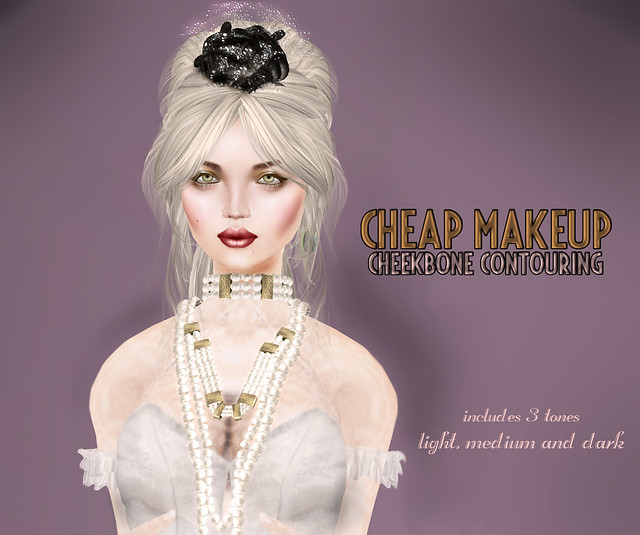 Cheap Makeup-Cheekbone Contouring