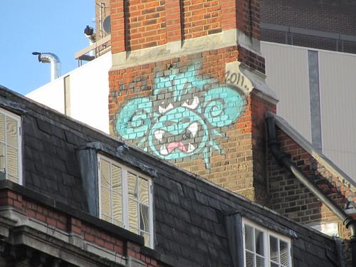 More monkey graffiti