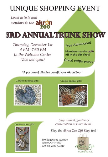 7 24 11 Trunk Show Flyer