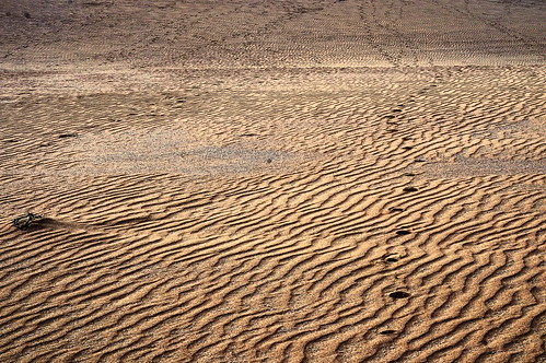 Chapter 7 - Corralejo, the unbereable lightness of the desert (#5): Footprints