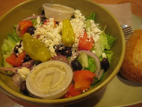 Greek salad Panera