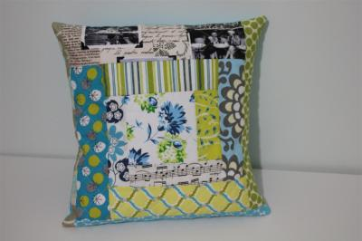 Quilted cushion cover 2