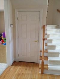 Spring Hinges for Interior Door to Basement ...