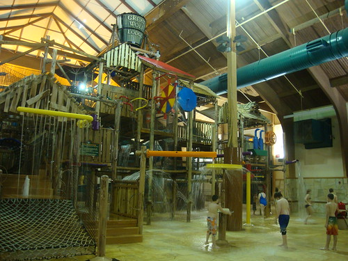 giant water climbing fort