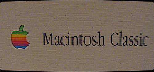 Macintosh Classic Logo (Pixelscreen)