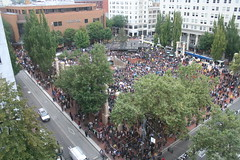 Occupy Portland in Pioneer Square