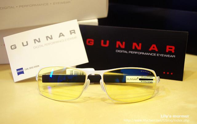 Gunnar數位光學眼鏡,這是我試用的款式。很好看!