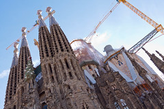 Sagrada Familia - Extérieur