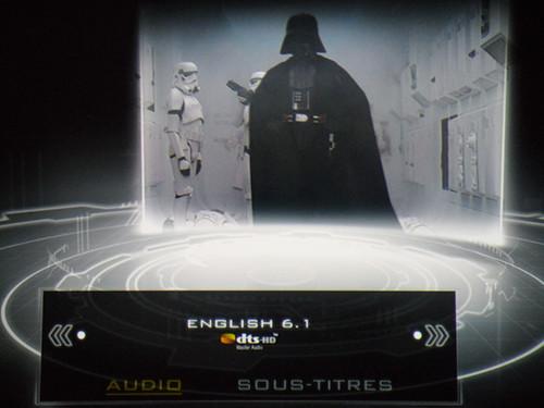Star Wars : episode IV - sound menu