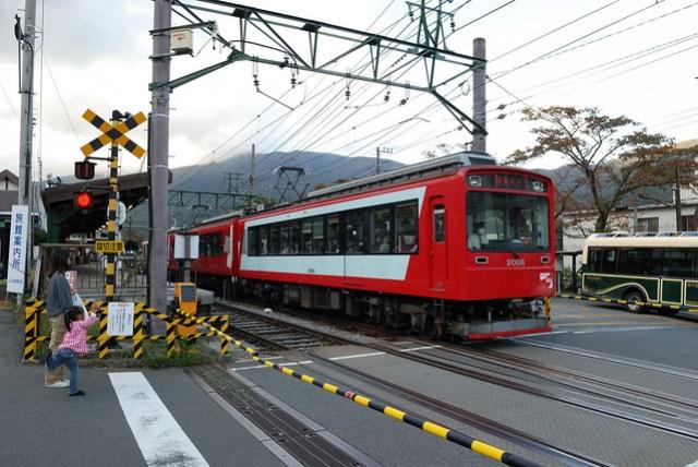 下山的電車