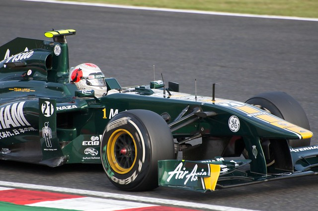 Jarno Trulli Team Lotus