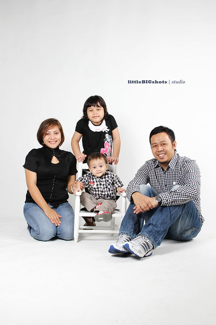 A Family is a Haven | Family Studio Portraiture