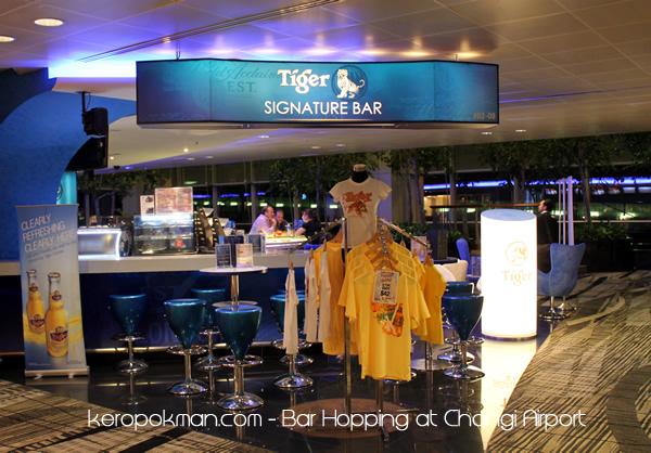 Changi Airport - Tiger Signature Bar