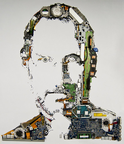 Steve Jobs 1955-2011 by Mint Digital