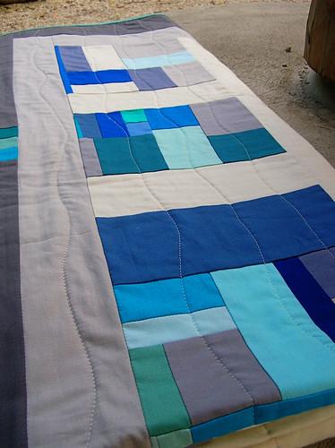 Banff quilt folded up