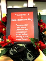November 11 is Remembrance Day