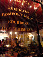The bar at Township
