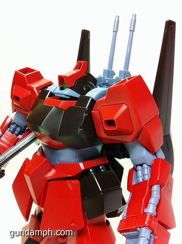 MG Rick Dias Quattro Custom RED Review OOB Build (48)