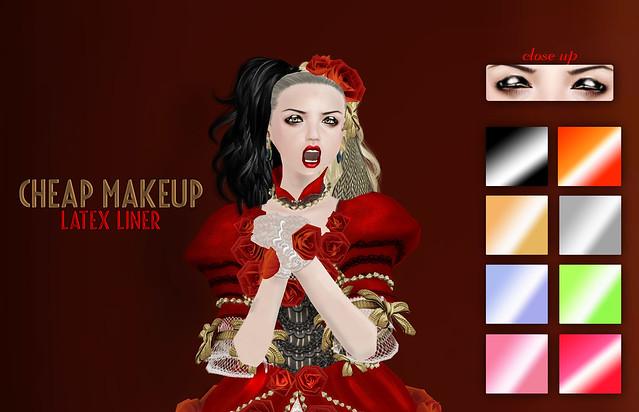 Cheap Makeup- Latex Liner