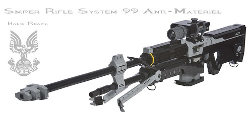 Halo: Reach SRS99 Anti-Matériel