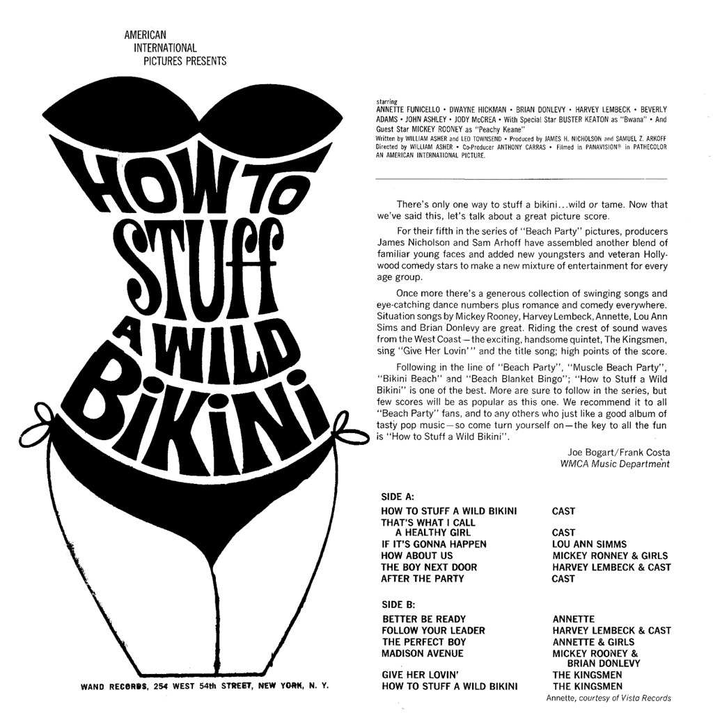 Various Artists - How to Stuff a Wild Bikini