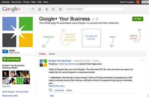 G+ for Business