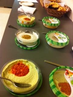 Hummus tasting