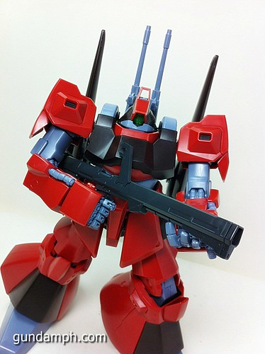 MG Rick Dias Quattro Custom RED Review OOB Build (55)