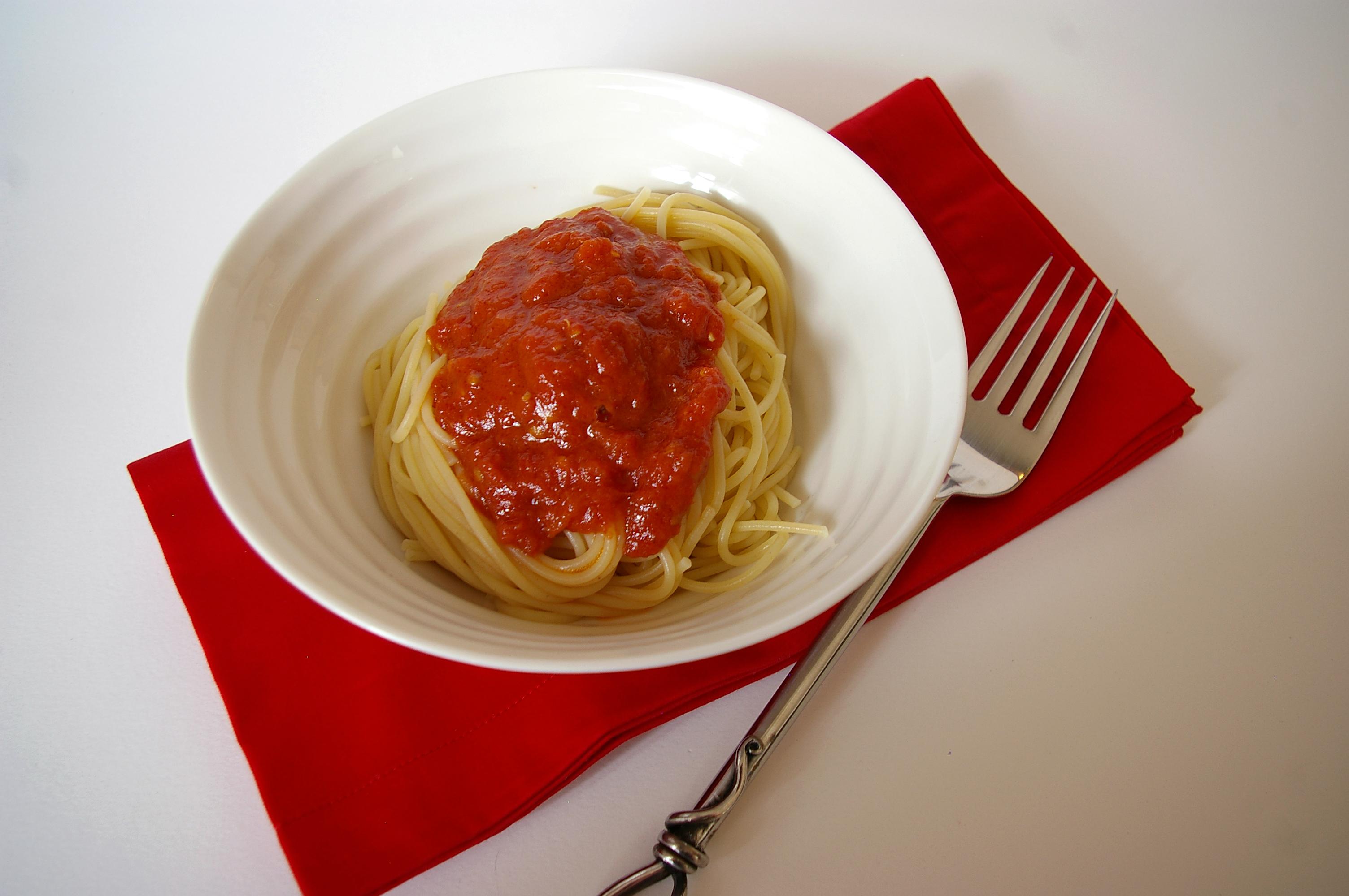Spaghetti and Sauce I