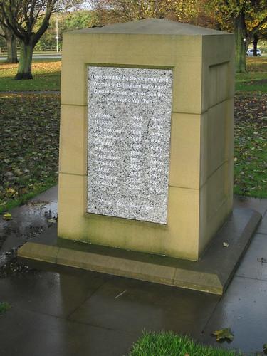 Billingham modern War Memorial