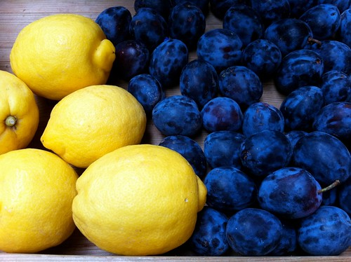 Lisbon lemons & plums