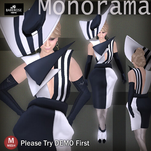 Monorama  by BareRose @ The Deck