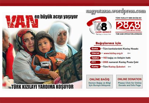 Segíts a törökországi földrengés áldozatain