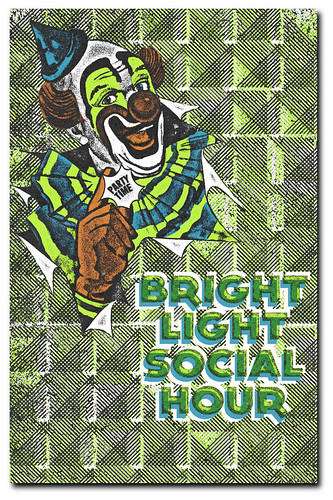 Bright Light Social Hour Gigposter