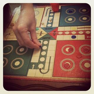 Old skool game - ludo