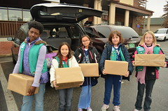 Girl Scouts give back to community