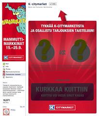 K-citymarket tarjoukset