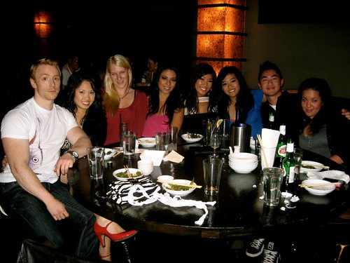 22nd birthday at Hapa Izakaya Robson