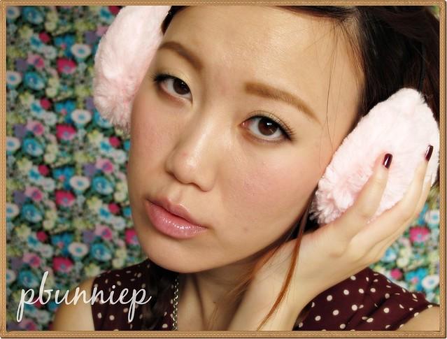 Rainie Yang cute makeup look