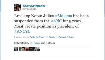 KatyKatopodis: Breaking News: Julius #Mal ...
