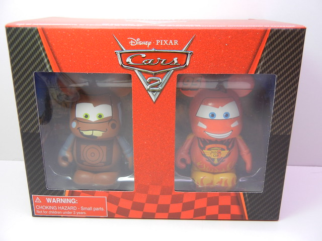 disney store cars vinylmation lightning mcqueen and mater (1)