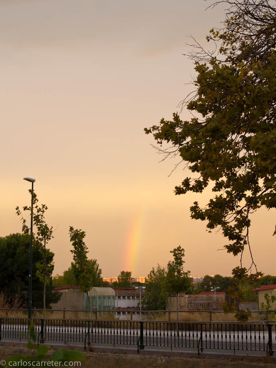Lunes, ocho y media, arco iris