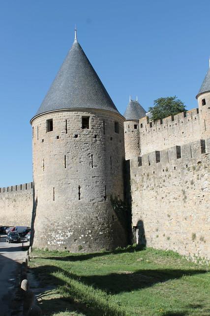 enceinte de la cité médiévale