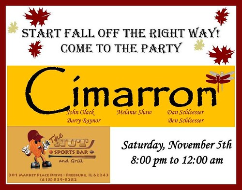 Cimarron 11-5-11 8-12