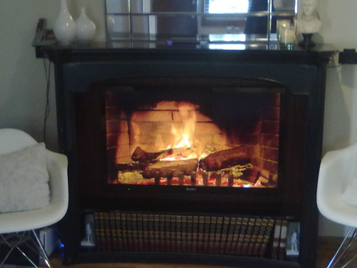 Check the TV fireplace at my open house! by MichaelLiew