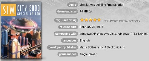 SimCity 2000 Special Edition - Now Available on GOG!