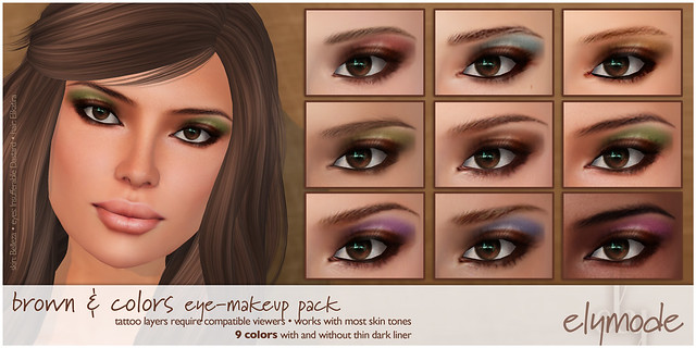 elymode eye shadows